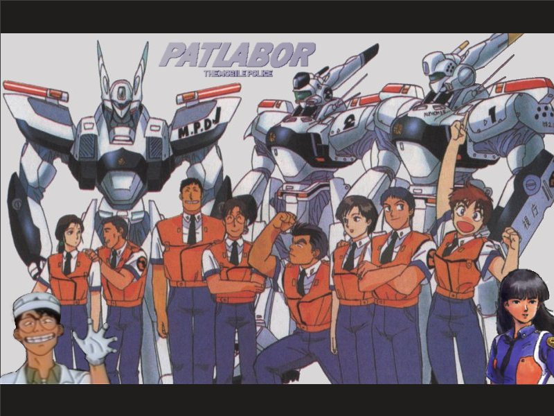 [Especial] - FoxKids/Jetix 1213752-best-patlabor-anime-manga-wallpaper